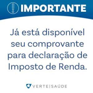 COMPROVANTE IMPOSTO DE RENDA